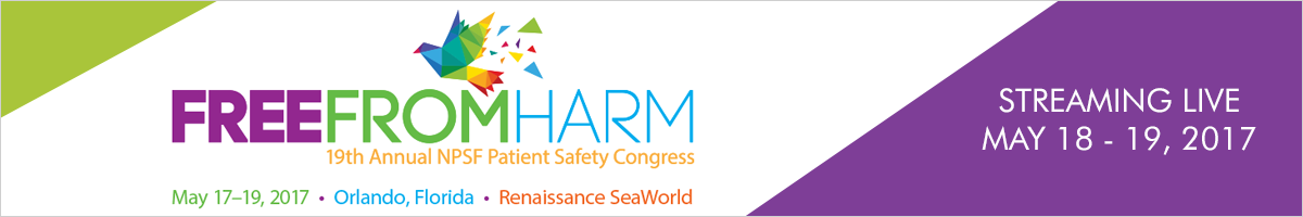 The 19th Annual Patient Safety Congress - Keynote Speaker Series